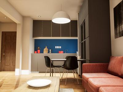 One-bedroom Apartament | visualization #07 unreal engine 4 interior architecture archvis architecture architectural visualization