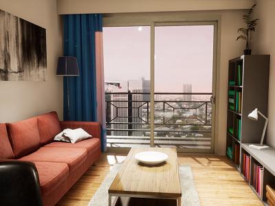 One-bedroom Apartament | visualization #08 unreal engine 4 interior architecture archvis architecture architectural visualization
