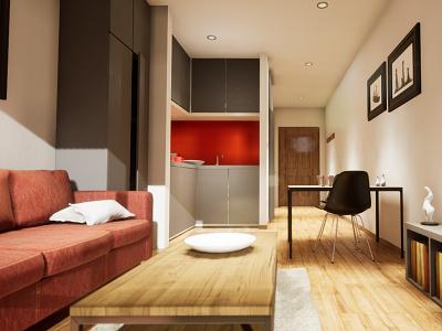 Studio Apartament | visualization #05 unreal engine 4 interior architecture archvis architecture architectural visualization