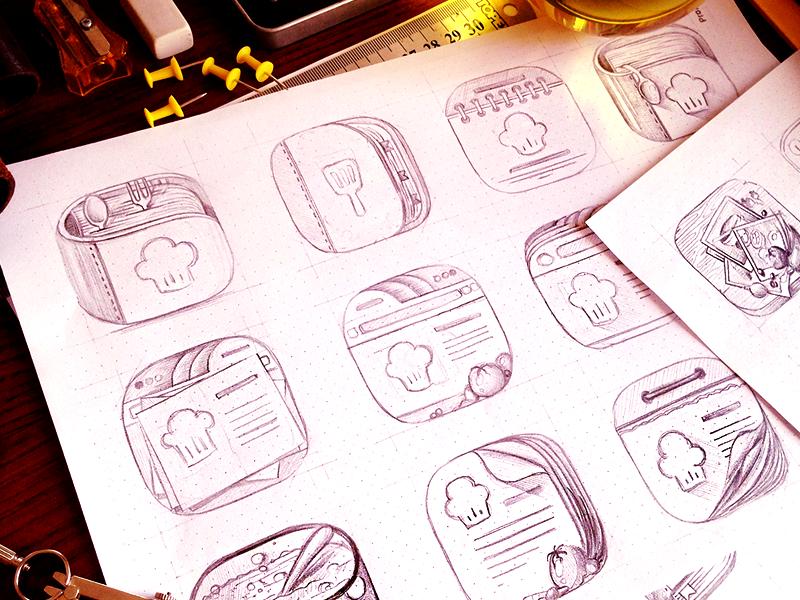 Sketch dribbble