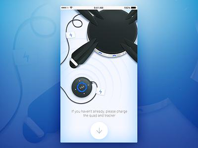 LILY Camera drone ux ui prokopenko proart interface app mobile camera lily screen