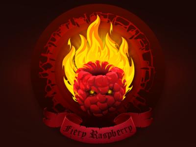 Fiery Raspberry