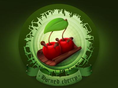 Horned cherry