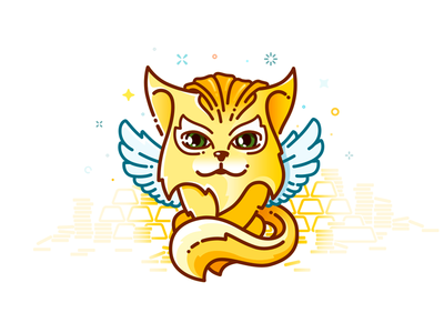 Winged lynx