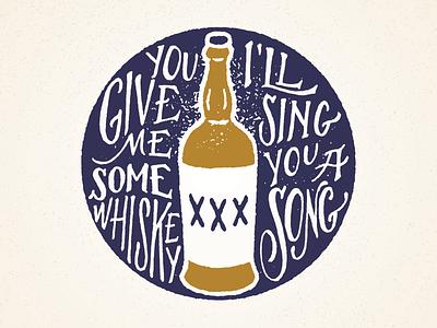 Give me some whiskey coasters hand drawn whiskey screen print xxx