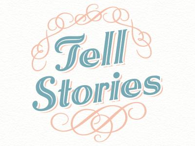Dribbble tell stories