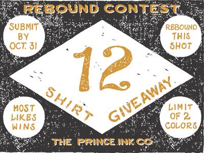 12 Shirt Giveaway