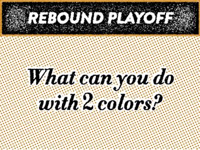 Dribbble rebound playoff 1