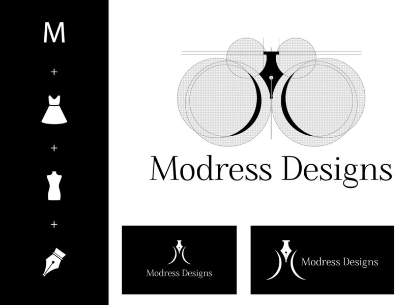 Logo Design for a local designer's clothing line brand identity branding design logo for clothing line logodesign logo emblem branding logo