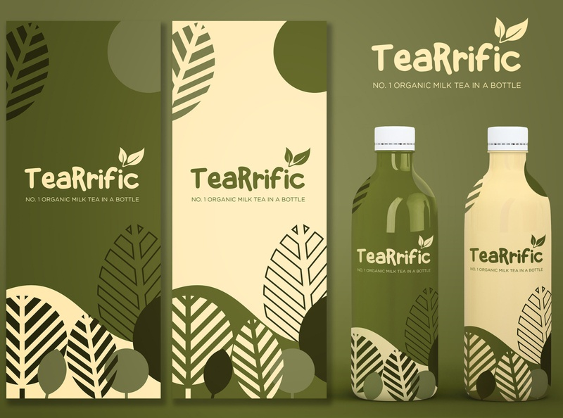 My upcoming milk tea business packaging bottle mockup package design milktea mockup packagingdesign packagingpro design logo