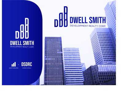 Dwell Smith Development Realty Corp.-Logo illustrator logo challenge logo concept real estate branding branding design branding real estate logo logo design logodesign logo
