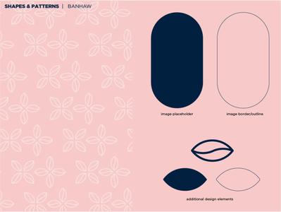 BANHAW | Shapes & Patterns logo design logodesign patterns shapes branding design branding