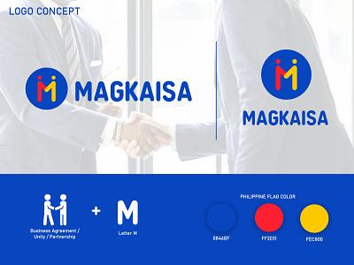 MAGKAISA Logo Design business logo business logo design logodesign branding design logo design branding