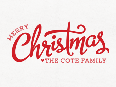 Our Christmas Card...