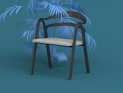Mloek chair design design animation 3ddesign