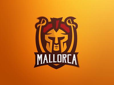 Mallorca Romans romans mallorca logo esports mascot sports