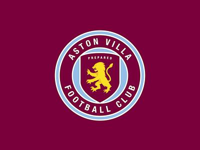 Aston Villa FC Logo sports villa aston epl logo football english