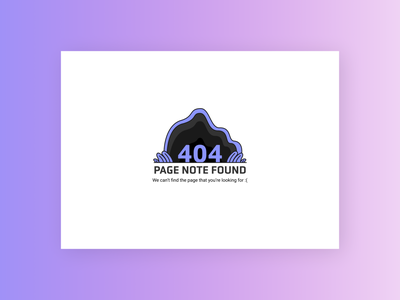 404 Error Page Design 404 error page 404 eror web minimal daily ui typography dailyuichallenge vector graphic design design illustration illustrator