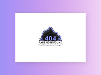 404 Error Page Design 404 error page 404 eror web minimal daily ui typography dailyuichallenge vector graphic design design illustration illustrator