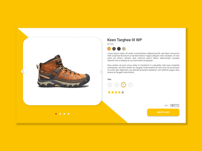 E - Commerce Shop (Single Item) Design ecommerce ecommerce design website concept typography daily ui app vector minimal illustration graphic design design dailyuichallenge dailyui user interface userinterface