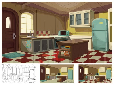 2D Background Animation adobe photoshop illustration adobe photoshop illustrator 2d environment 2d illustration digital assets interior digital art coloring 2danimation 2d background 2d art illustration