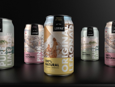 Lorina Packaging Concept & Render