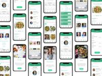 Nutrition Expert App usability uiux adobe xd ui design responsive design wireframes prototype nutrition uxdesigner app case study ux design ux