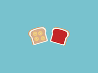 17 // 100 Food: PBJ & Banana