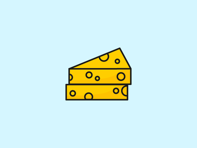 Cheese 100 food cheese illustration icon food design