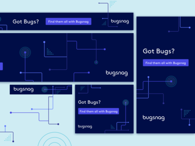 Bugsnag Ads advertising marketing banners ads