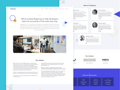 About page illustration landing page web  design design