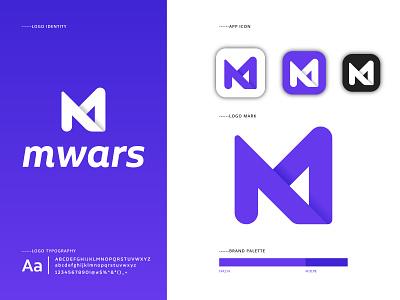 M letter logomark m letter logo mlogo logomaker logomark logotype illustraion letterlogo icon graphic design flat brand identity brand design brand appicon app abstract logo