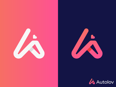 A letterlogo design design modern flat app graphic design logo letterlogo logotype brand brand identity abstract logo