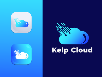 Cloud App Logo Design love wonderful web weather dribbble awesome clean colorful concept letter abstract flat brand identity creative modern minimalist design logo app cloud