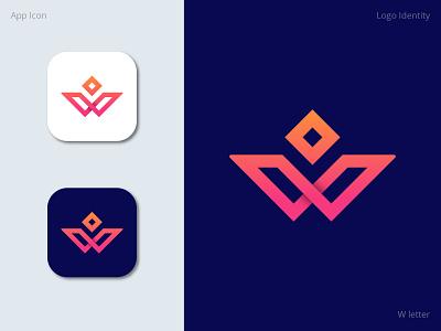 w letter logo concept apparel clothing style m fashion icon logomark logo design logo negative space letter mark monogram b c f h i j k m p q r u v w y z r o k i b s d e s i g n