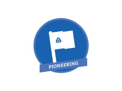 Pioneering Badge