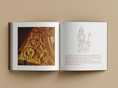 Metal Craft of Chamba minimal publication design illustration craft brand style branding typography layout design graphic design design