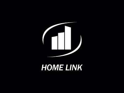 Home Link Logo logo vector illustration creative business identity brand identity design branding logo design