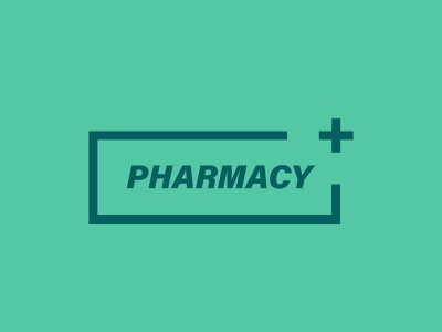 pharmacy + Logo vector business identity design creative branding brand identity illustration logo