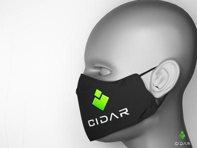 Cidar Nose Mask mockup cgart trendy photoshop daily render conceptart design product design hard surface modeling blender 3d artist 3d art