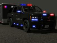 Police Lights car security wednesday collective dailyrender 3d animation cgart blender hard surface modeling product design blender3d 3d art