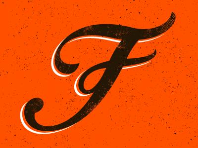 Fine Friday tone half citizens fine orange texture friday lettering
