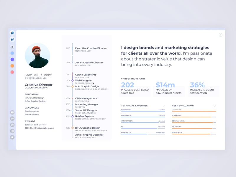 Lede Profile (web app)