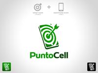 """Logo """"Punto Cell"""""""