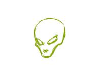 Grungy Little Alien
