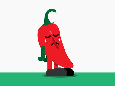 Spicy. Not sad. crying tears sad hot spicy mayo de cinco pepper