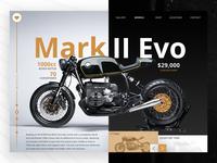 Mark II Evo - UI Concept