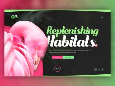 Habitat Rehabiliation UI Concept