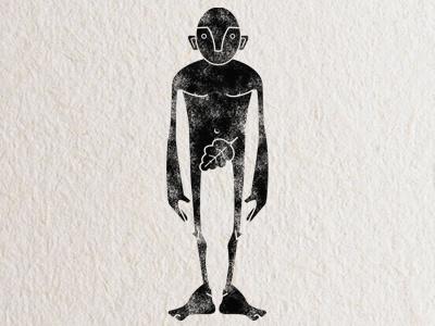 Man Sketch texture man stamp simple stylized eden genesis