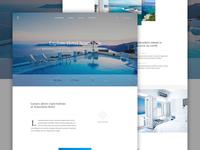Luxury Hotel - Homepage